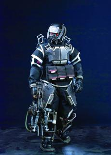 Killzone - figúrka Hazmat Trooper 31 cm