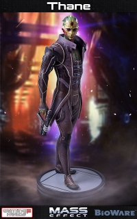 Mass Effect - socha Thane 47 cm
