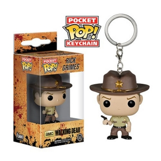 The Walking Dead POP! - vinylová kľúčenka Rick Grimes 4 cm