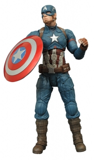 Marvel Select Civil War - figúrka Captain America 18 cm