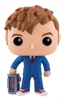 Doctor Who POP! - figúrka 10th Doctor With Hand 9 cm