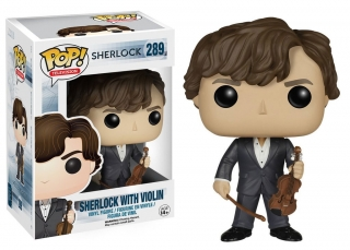 Sherlock POP! - figúrka Sherlock with Violin 9 cm