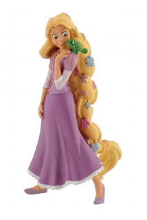 Tangled - figúrka Rapunzel With Flowers 10 cm