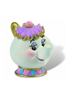 Beauty and the Beast - figúrka Mrs. Potts 6 cm