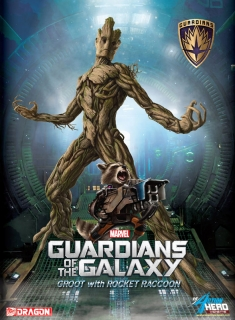 Guardians of the Galaxy - vignette Groot & Rocket Raccoon 23 cm