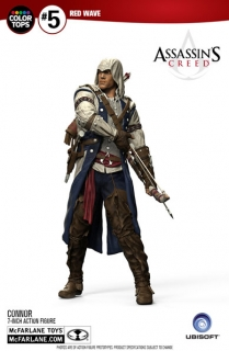 Assassin's Creed III - figúrka Color Tops Connor 18 cm