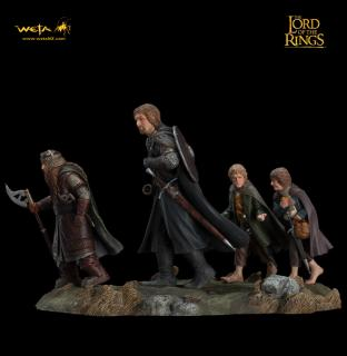 Lord of the Rings - soška Fellowship of the Ring Set 2 13 cm