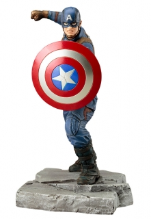 Captain America Civil War ARTFX+ - soška Captain America 18 cm