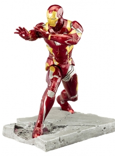 Captain America Civil War ARTFX+ - soška Iron Man Mark 46 18 cm