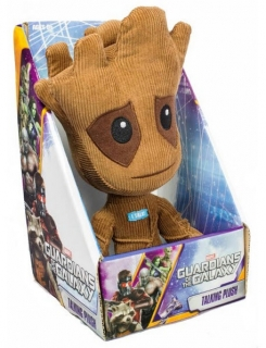 Guardians of the Galaxy - hovoriaca plyšová figúrka Groot 23 cm (English Ver.)