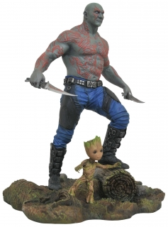 Guardians of the Galaxy Vol. 2 - soška Marvel Gallery Drax & Baby Groot 25 cm