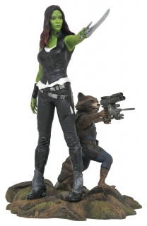 Guardians of the Galaxy Vol. 2 - soška Marvel Gallery Gamora & Rocket Raccoon 25