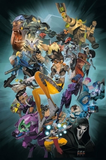Overwatch - zbierka komiksov Anthology Volume 1