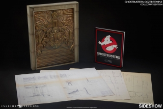 Ghostbusters - replika a kniha Gozer Temple & Book Collectors Edition