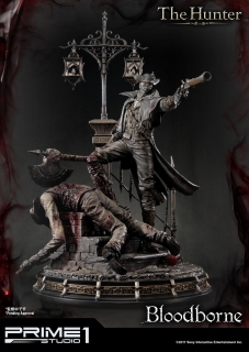 Bloodborne The Old Hunters - socha The Hunter 82 cm