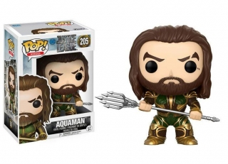Justice League POP! - figúrka Aquaman (Armored) 9 cm