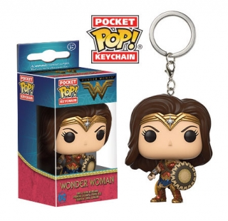 Wonder Woman Pocket POP! - vinylová kľúčenka Wonder Woman 4 cm