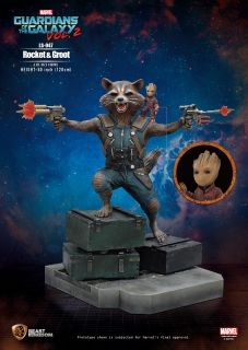 Guardians of the Galaxy 2 - socha Rocket & Groot 128 cm