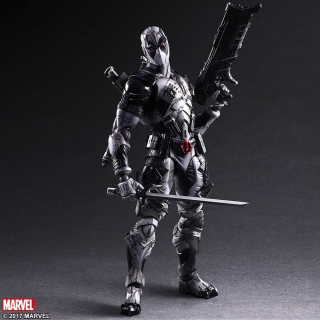 Marvel Comics Variant - figúrka Play Arts Kai Deadpool X-Force Ver. 27 cm