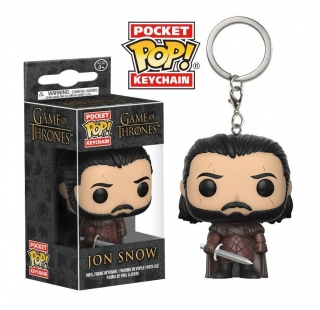 Game of Thrones  Pocket POP! - vinylová kľúčenka Jon Snow 4 cm