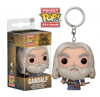 Lord of the Rings Pocket POP! - vinylová kľúčenka Gandalf 4 cm