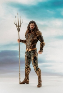 Justice League ARTFX+ - soška Aquaman 20 cm