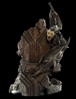 Lord of the Rings - soška Moria Orc 17 cm