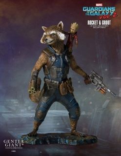 Guardians of the Galaxy 2 - soška Rocket & Groot 11 cm