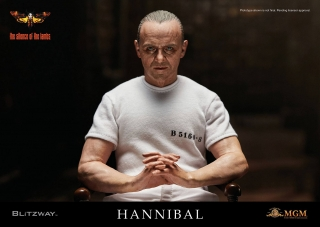 The Silence of the Lambs - figúrka Hannibal Lecter White Prison Uniform 30 cm