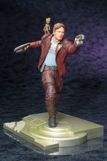 Guardians of the Galaxy ARTFX - soška Star Lord with Groot 32 cm