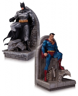 DC Comics - zarážka Superman & Batman 22 cm