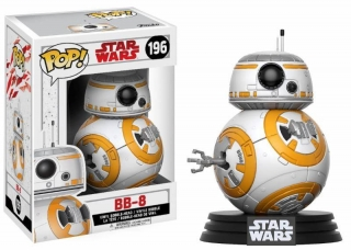 Star Wars Episode VIII POP! - bobble head BB-8 9 cm