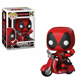 Deadpool POP!  - figúrka Deadpool & Scooter 9 cm
