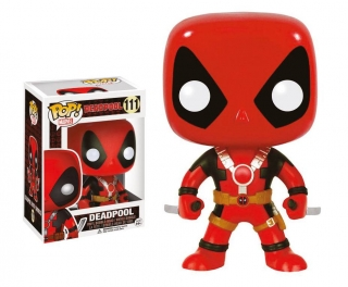 Marvel Comics POP! - bobble head Deadpool Two Swords 10 cm