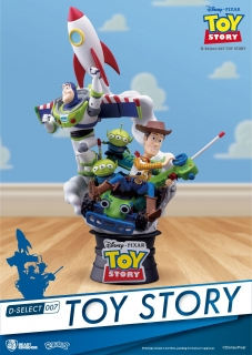 Toy Story D-Select - Diorama 15 cm