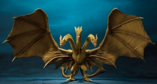 Godzilla: King of the Monsters - figúrka S.H. MonsterArts King Ghidorah 25 cm
