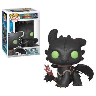 How to Train Your Dragon 3 POP! - figúrka Toothless 9 cm