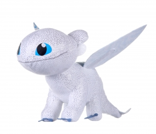 How to Train Your Dragon 3 - plyšová figúrka Light Fury Glow In The Dark 32 cm