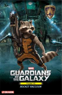Guardians of the Galaxy - model Rocket Raccoon 18 cm