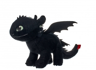 How to Train Your Dragon 3 - plyšová figúrka Toothless Glow In The Dark 32 cm