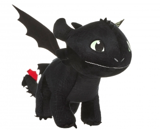 How to Train Your Dragon 3 - plyšová figúrka Toothless Glow In The Dark 60 cm