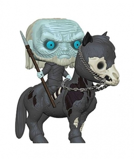 Game of Thrones POP! - figúrka White Walker on Horse 15 cm