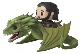 Game of Thrones POP! - figúrka Jon Snow & Rhaegal 9 cm