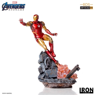 Avengers: Endgame - socha BDS Art Scale Iron Man Mark LXXXV 29 cm