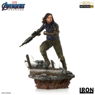 Avengers: Endgame - socha BDS Art Scale Winter Soldier 21 cm