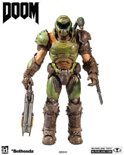 Doom Eternal - figúrka Doom Slayer 18 cm