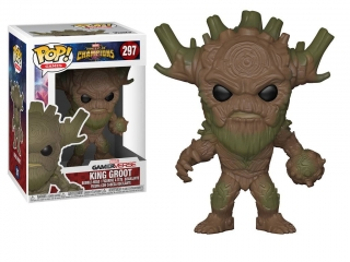 Marvel Contest of Champions POP! - figúrka King Groot 9 cm