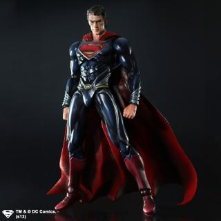 Man Of Steel - figúrka Play Arts Kai Superman 25 cm