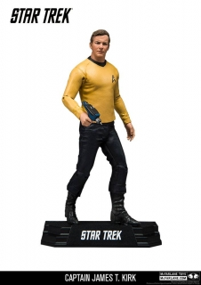 Star Trek TOS - figúrka Captain James T. Kirk 18 cm