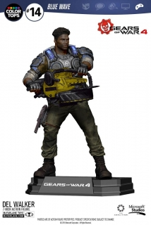 Gears of War 4 - figúrka Delmont 'Del' Walker 18 cm